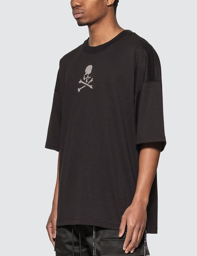 Mastermind World Glass Beaded Skull Oversized T-shirt