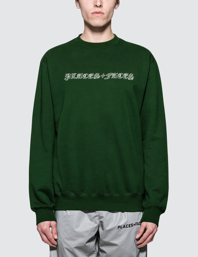 Places + Faces Old English Sweatshirt