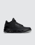 Jordan Brand Air Jordan 3 Retro 2011 Black Flip Picture