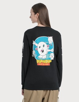 RIPNDIP Nerm Story Long Sleeve T-Shirt