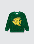 Mini Rodini Fish Terry Sweatshirt Picture