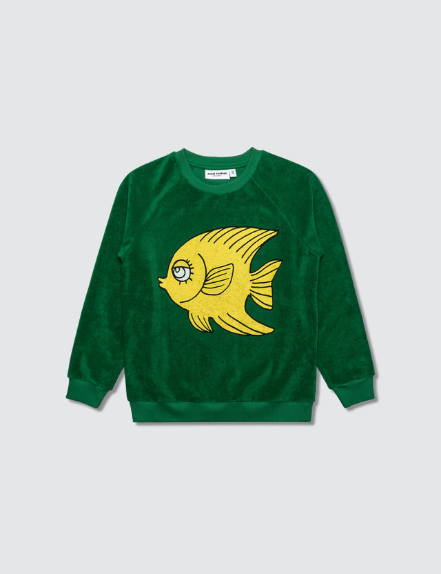 Mini Rodini Fish Terry Sweatshirt