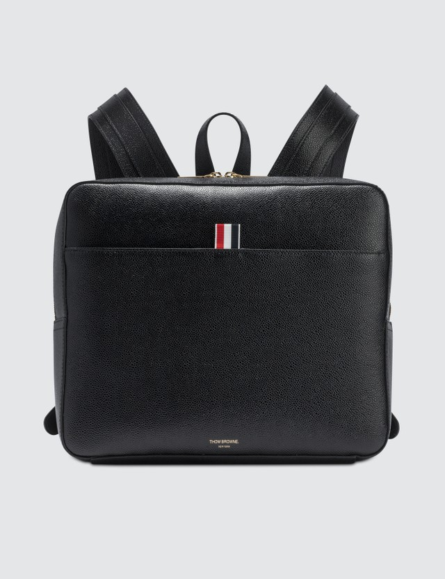 Thom Browne Zip Top Book Bag