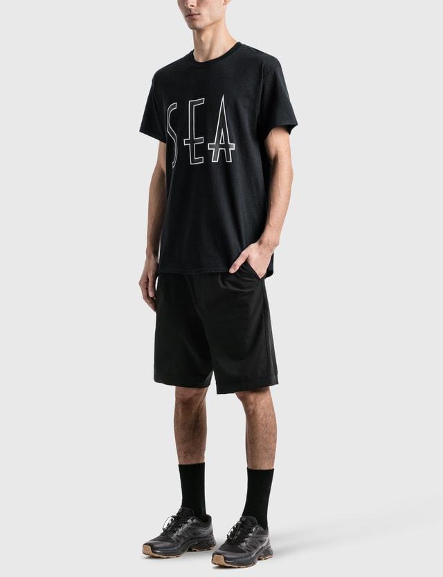 Wind And Sea Sea (Wavy) T-Shirt Black Men