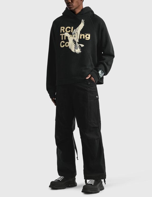 Reese Cooper RCI Duck Print Hooded Sweatshirt Black Men