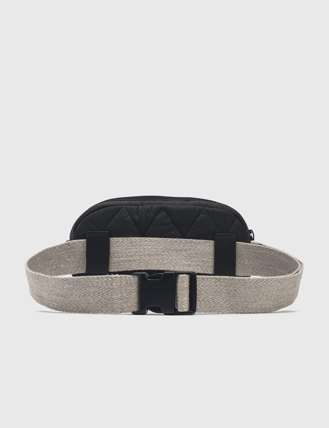 Emporio Armani R-EA Show Belt Bag Black Women