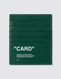 Off-White Quote Card Holder Picture