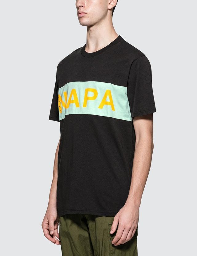 Napapijri Silver Banner Logo S/S T-Shirt