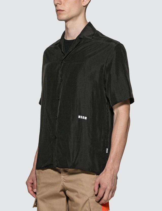 MSGM Iridescent Silk Shirt =e43 Men