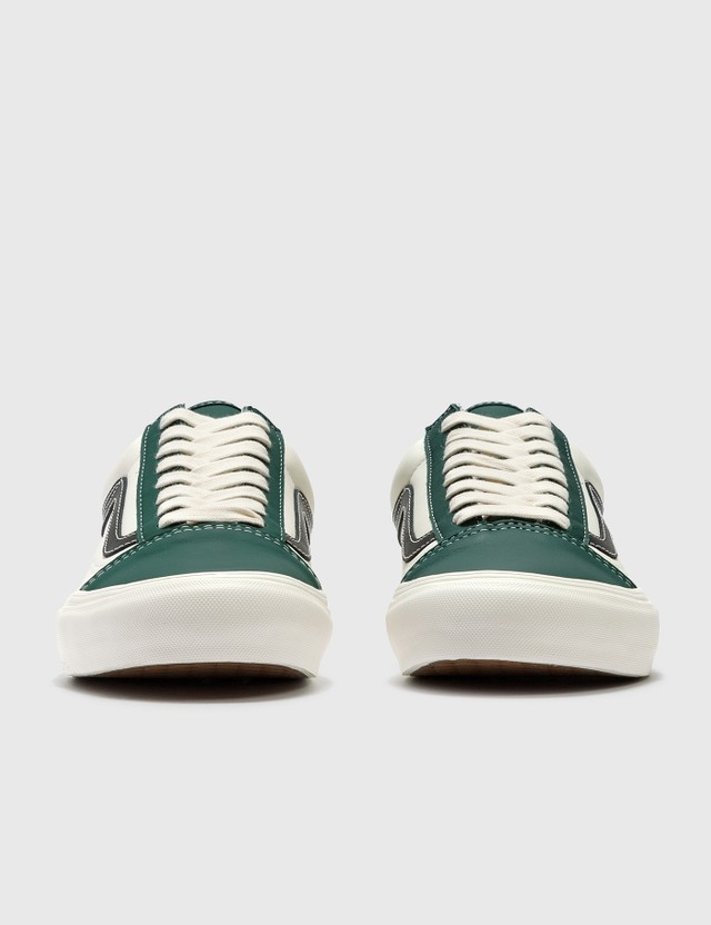 Vans Old Skool VLT LX (leather) Evergreen/marshmallow Men