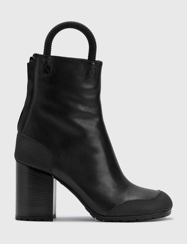 Random Identities Worker Boots Black Women