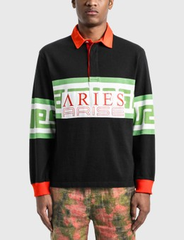 Aries Meandros Rugby Shirt