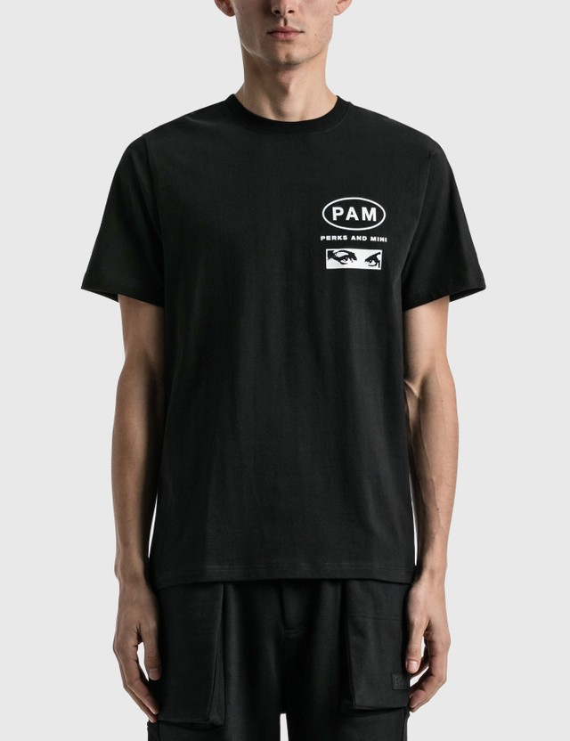 Perks and Mini Logos And Taste Like Ginseng Print T-shirt Black Men