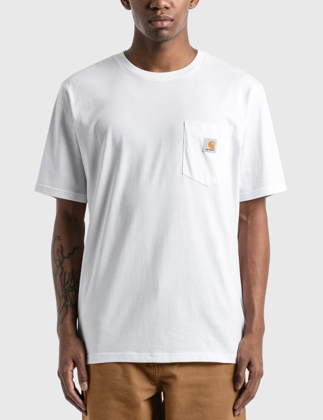 Carhartt Work In Progress Pocket T-Shirt White Men
