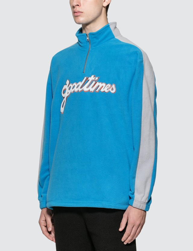 Have A Good Time Good Times Half-zip Fleece Sweatshirt