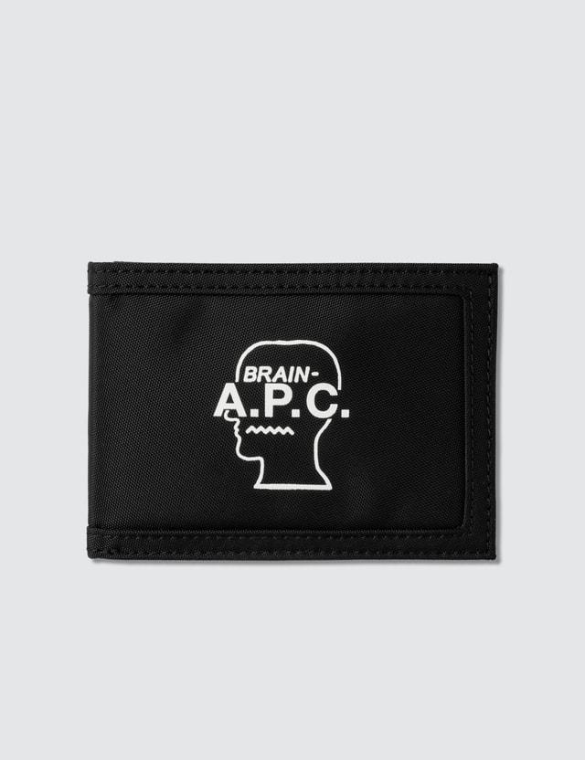 A.P.C. Logo Wallet