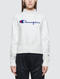 Champion Reverse Weave Turtle Neck Long Sleeves Sweatshirt Picutre