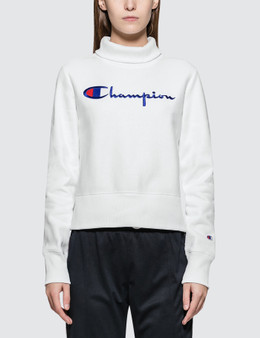 Champion Reverse Weave Turtle Neck Long Sleeves Sweatshirt