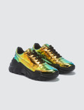 Joshua Sanders Zenith Chunky Sole Sneakers Crash Holo Women
