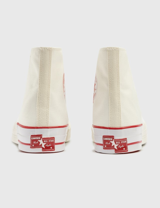 Converse Chuck 70 Hi White/egret/university Red Women