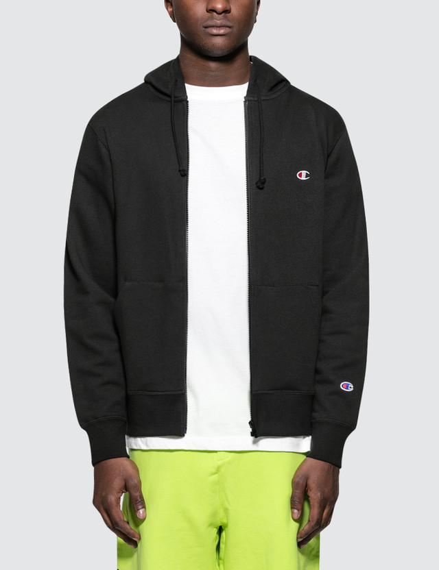 Champion Japan Small Logo Zipup Hoodie