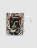"Ligne Blanche Jean-Michel Basquiat ""Glenn"" Mug Picture"