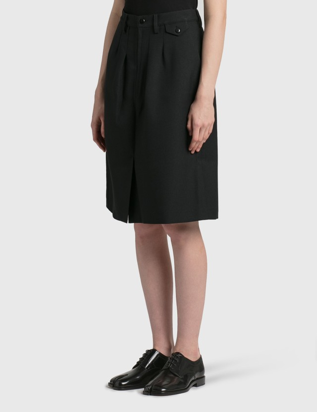 Random Identities Officer Skirt Black Women