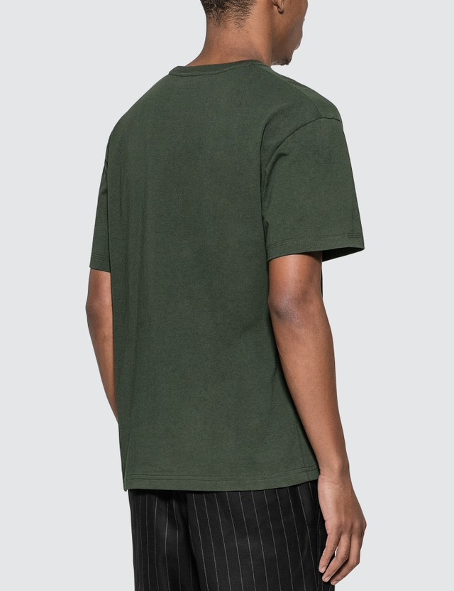 Bottega Veneta Basic Logo T-Shirt Pine Green Men