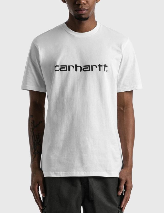 Carhartt Work In Progress Script T-shirt White / Black Men