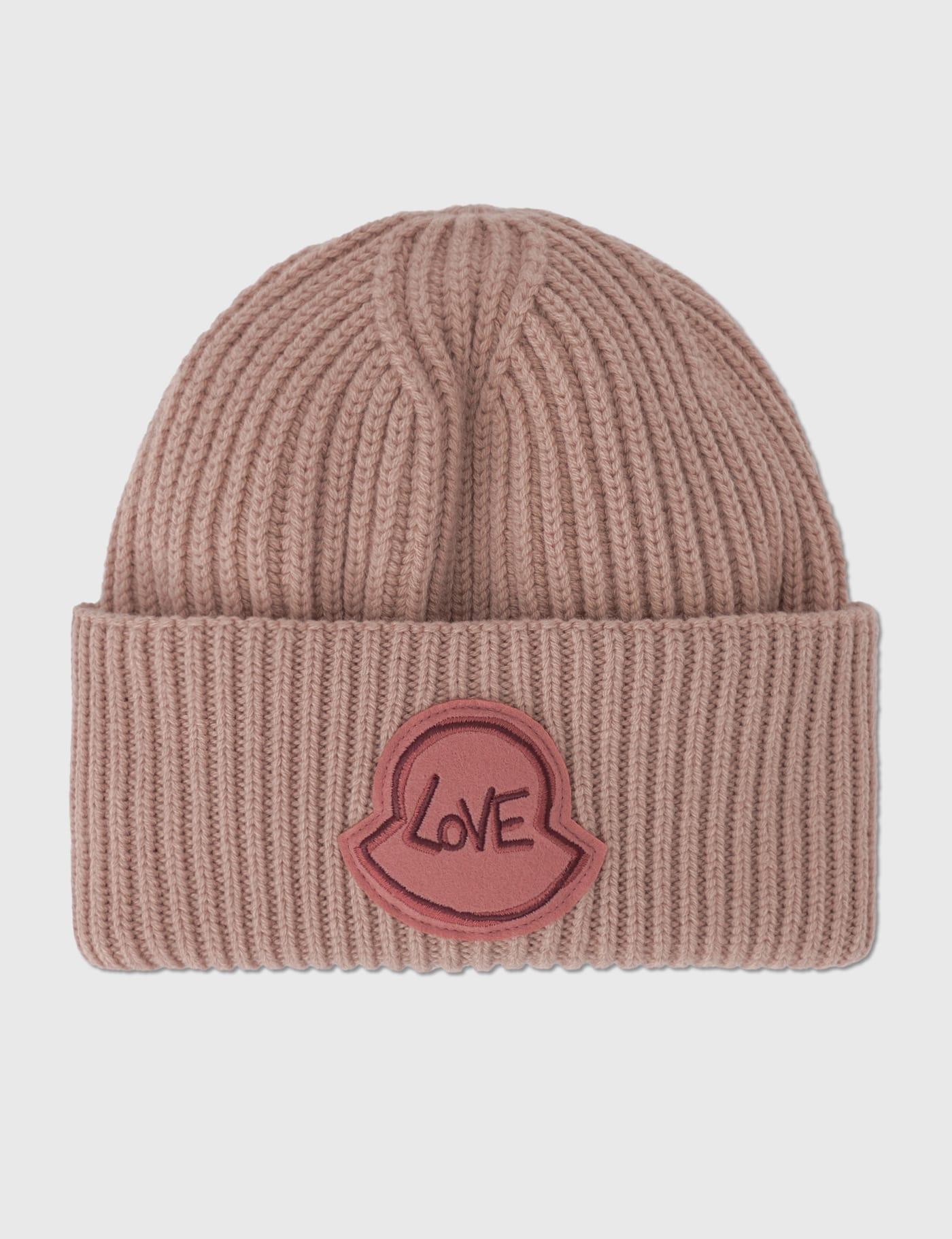 몽클레어 러브 로고 비니 Moncler Love Logo Beanie