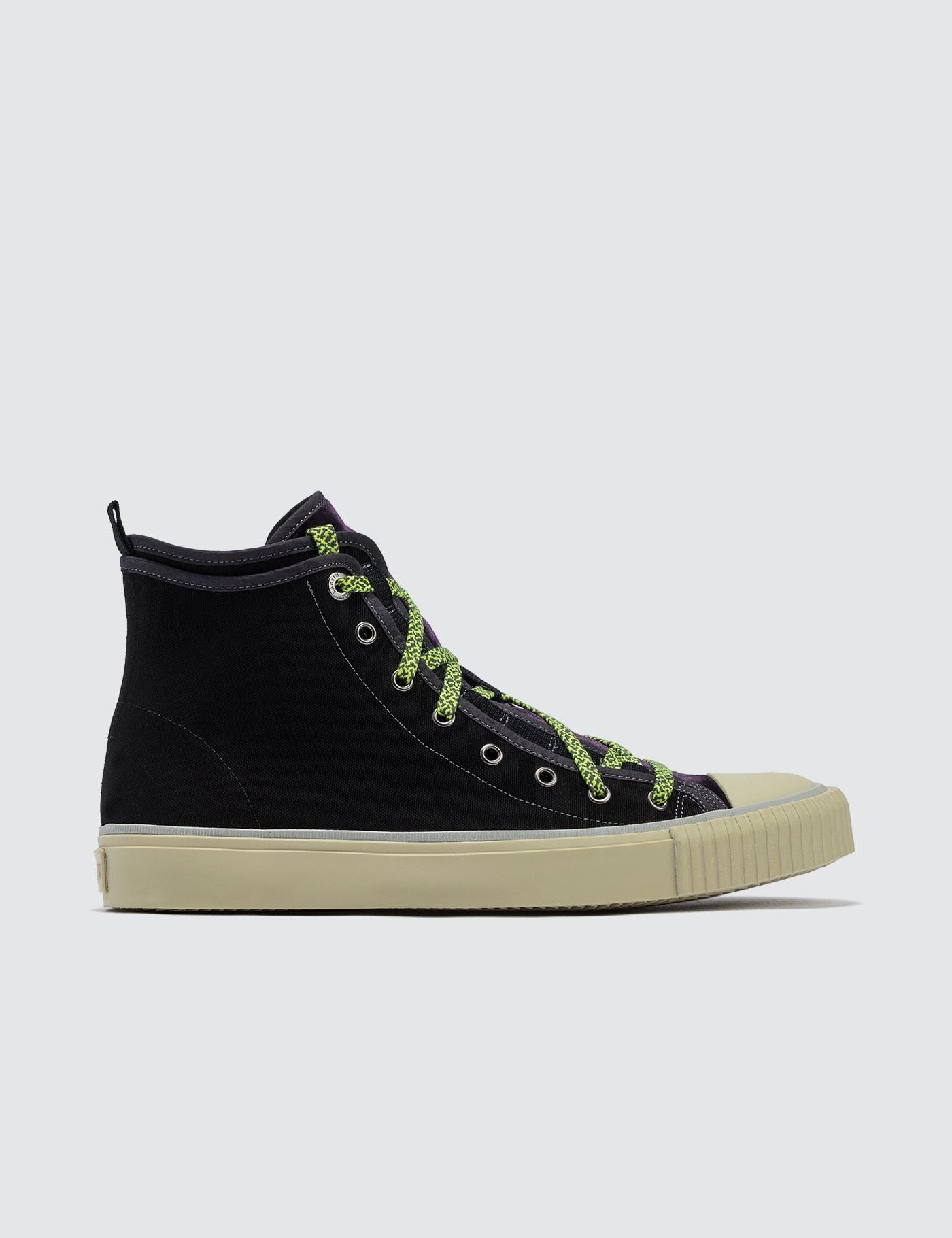 Mid Top Sneaker Canvas E Velvet