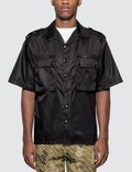 Prada Nylon gabardine shirt with Epaulettes Picture