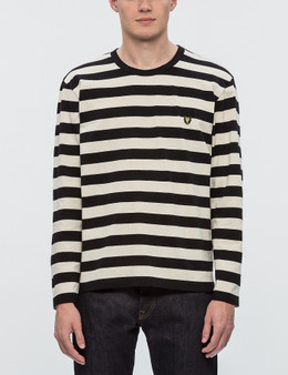 Human Made Border L/S T-Shirt