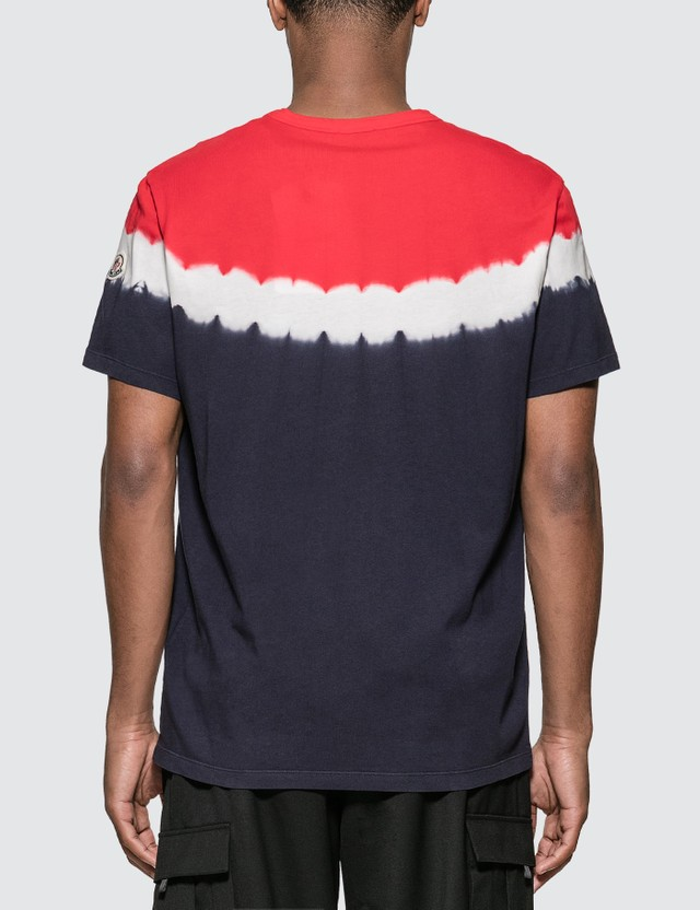 Moncler Tie Dye T-shirt Red Men