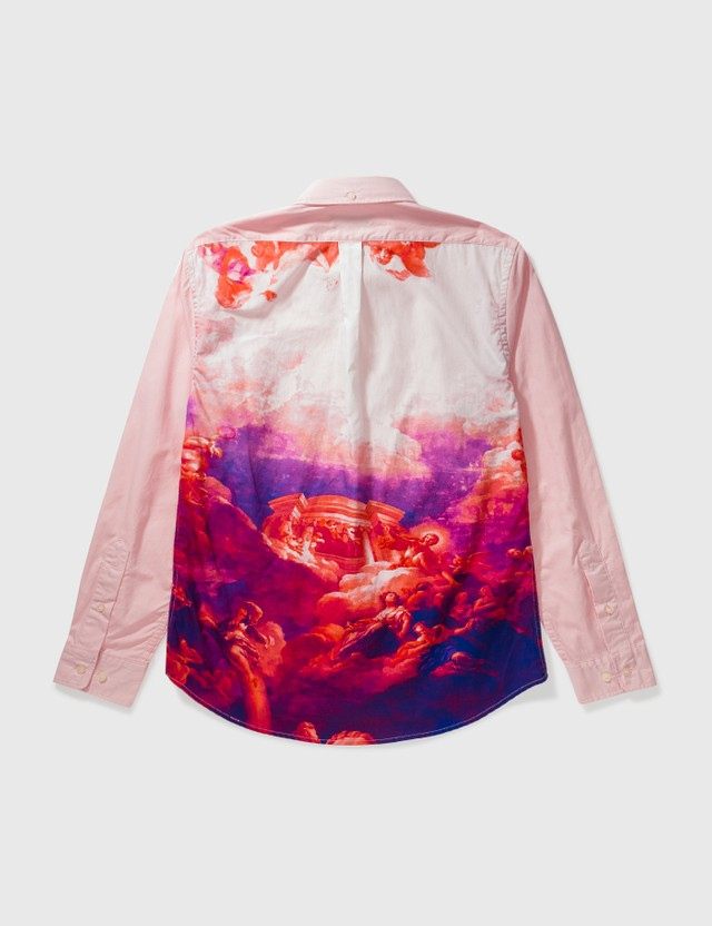 Palace Skateboards Palace Print Shirt Pink Archives