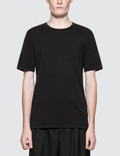 Maison Margiela Black Garment Dyed Logo T-Shirt Picture