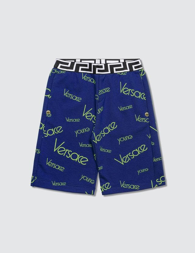 Versace Versace Monogram Sweatshorts