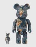 Medicom Toy Be@rbrick Van Gogh Museum Self Portrait 100% & 400% Set Picutre
