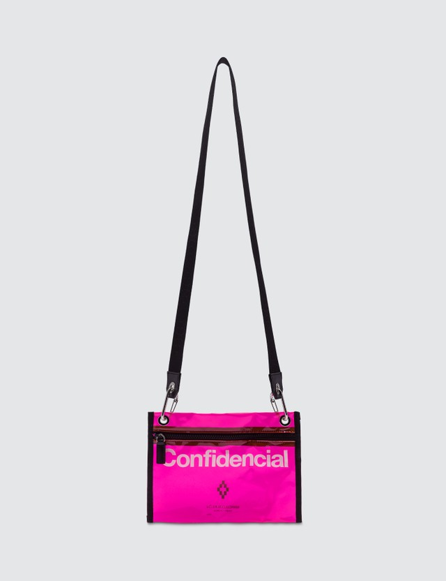 Marcelo Burlon Confidencial Crossbody Bag
