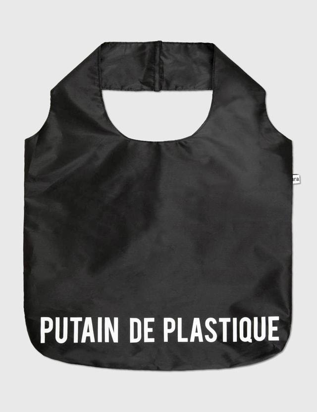 "Fisura ""Fucking Plastic"" Reusable Bag N/a Life"