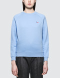 Maison Kitsune Tricolor Fox Patch Sweatshirt Picutre