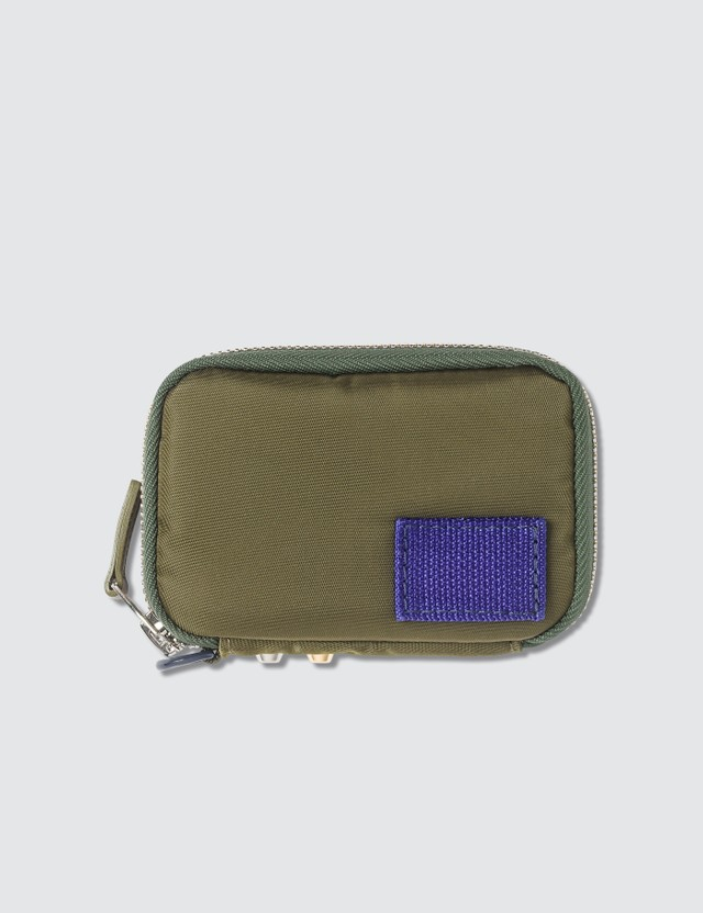 Sacai Studded Zip Around Wallet