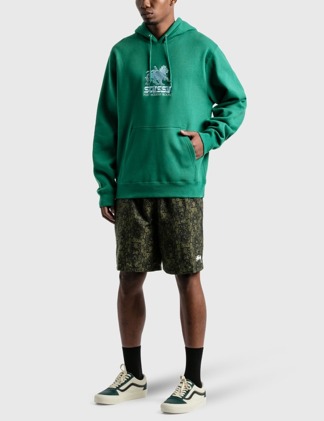 Stussy Stussy Lion App. Hoodie Dark Green Men