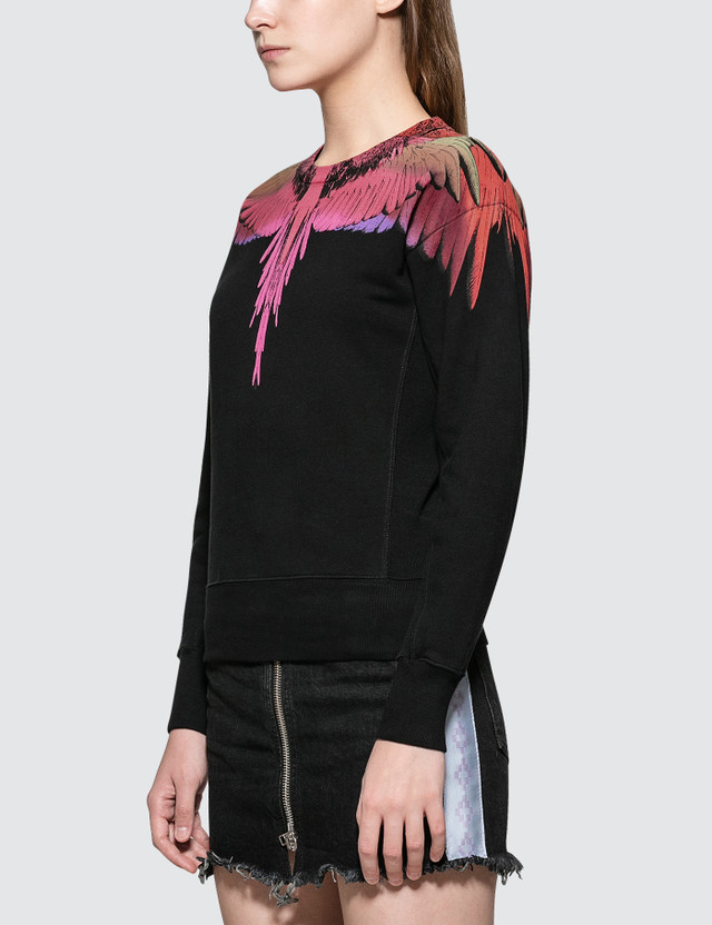 Marcelo Burlon Color Wings Crewneck