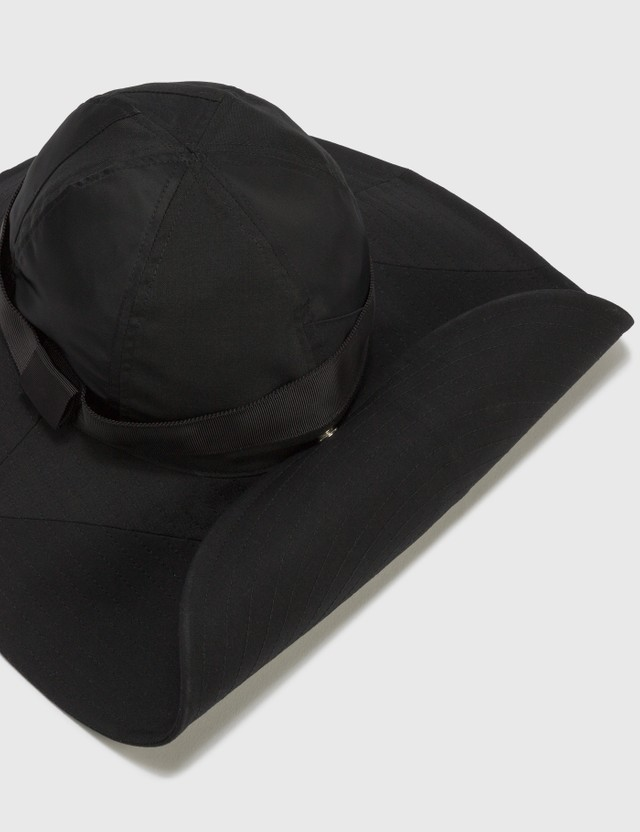 Sacai Hank Willis Thomas Solid Mix Hat Black Men