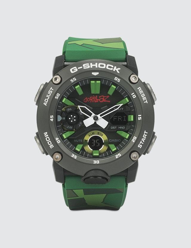 G-Shock G-Shock x Gorillaz Collaboration GA-2000GZ-3A