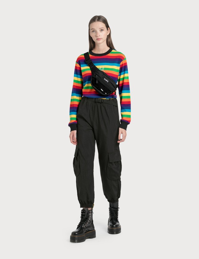 X-Girl Multi Stripe Top