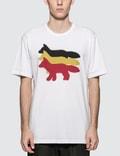 Maison Kitsune Triple Foxes S/S T-Shirt Picture