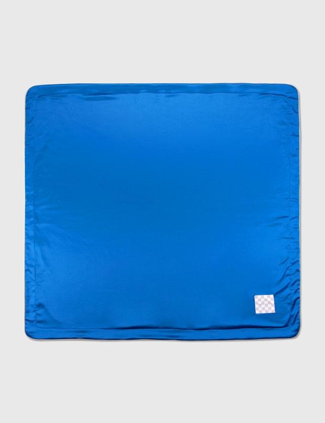 Crosby Studios Blue Fleece Blanket Blue Unisex