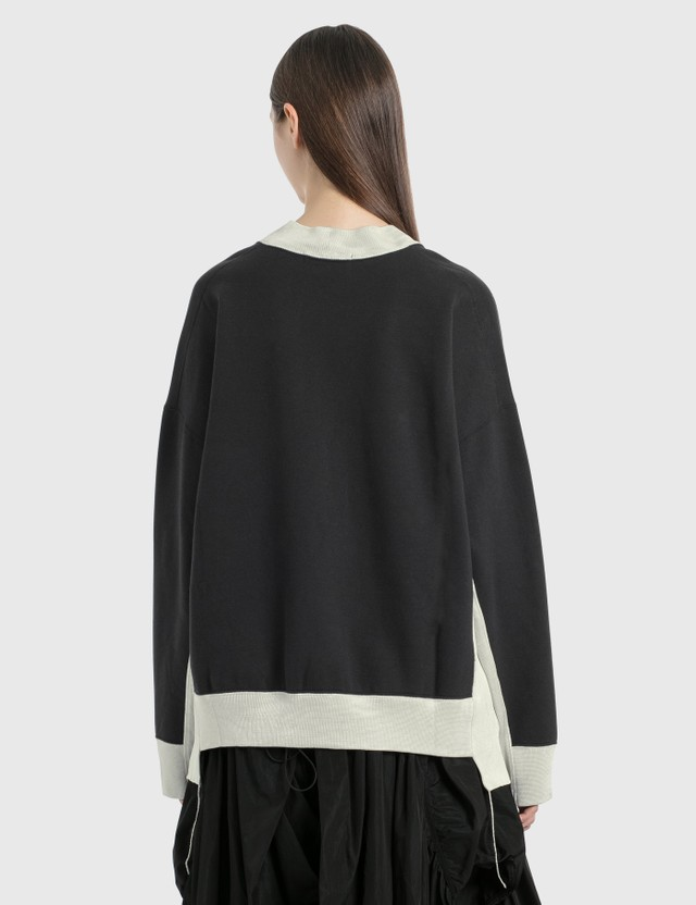 Ambush Paneled Asymmetric Sweatshirt